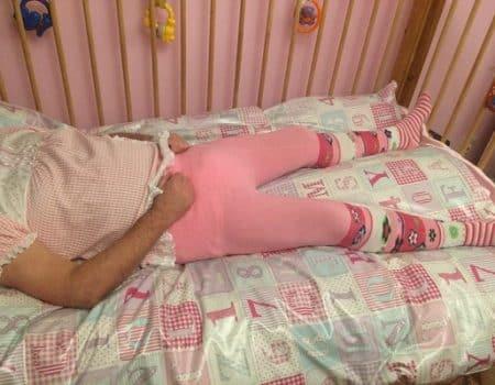 diapered sissy, sissy girl, diaper play